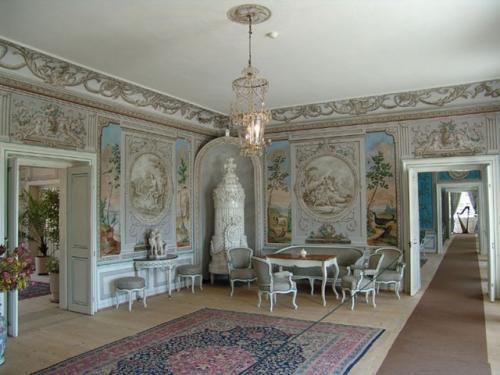 Interiéry zámku Kozel